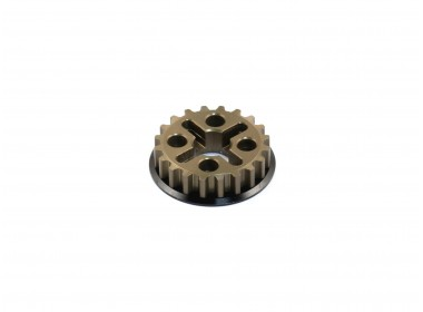 Alfa Coat Aluminum Center Pulley (20T) (O10154)