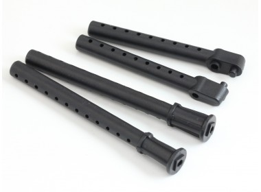 Plastic Front and Rear Body Post Set (D10018)