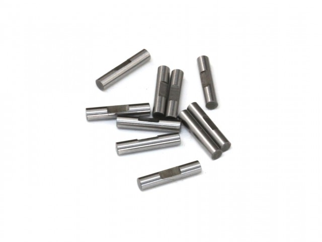 2x10mm Shaft Pin with Lock Slot, 10 pcs (D10083)