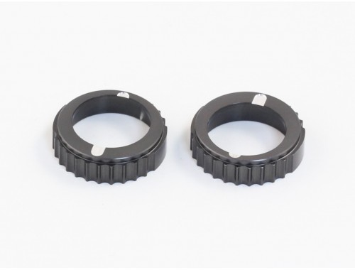RX-10S Aluminum Adjustment Ball Bearing Hub, 2 pcs (O10124)