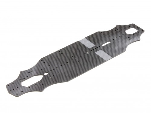 RX-10SR 2.0 Main Chassis (2.25mm Graphite) (D10236)