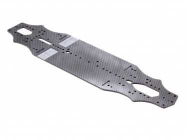RX-10SR Main Chassis (2.25mm Graphite) (D10162)